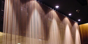 metal curtain