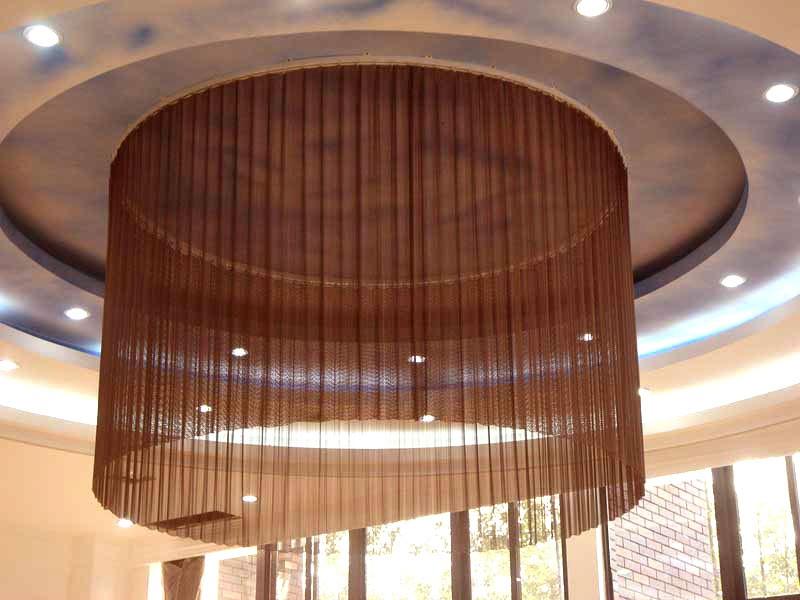 ... Metal Drapery Lamp Shade Decorative Mesh ...