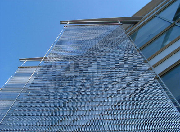 Aluminium Curtain Wall Facades : Metal facade wall curtain